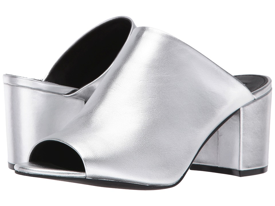 Steve Madden - Infinity (Silver Leather) Women