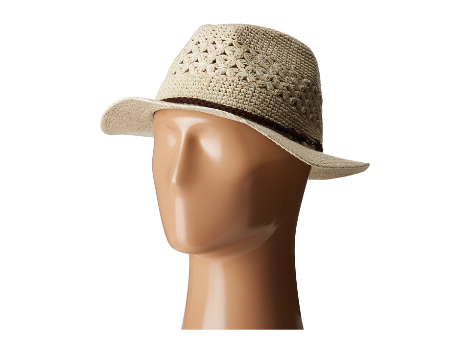 Pistil - Sedona (Natural) Fedora Hats