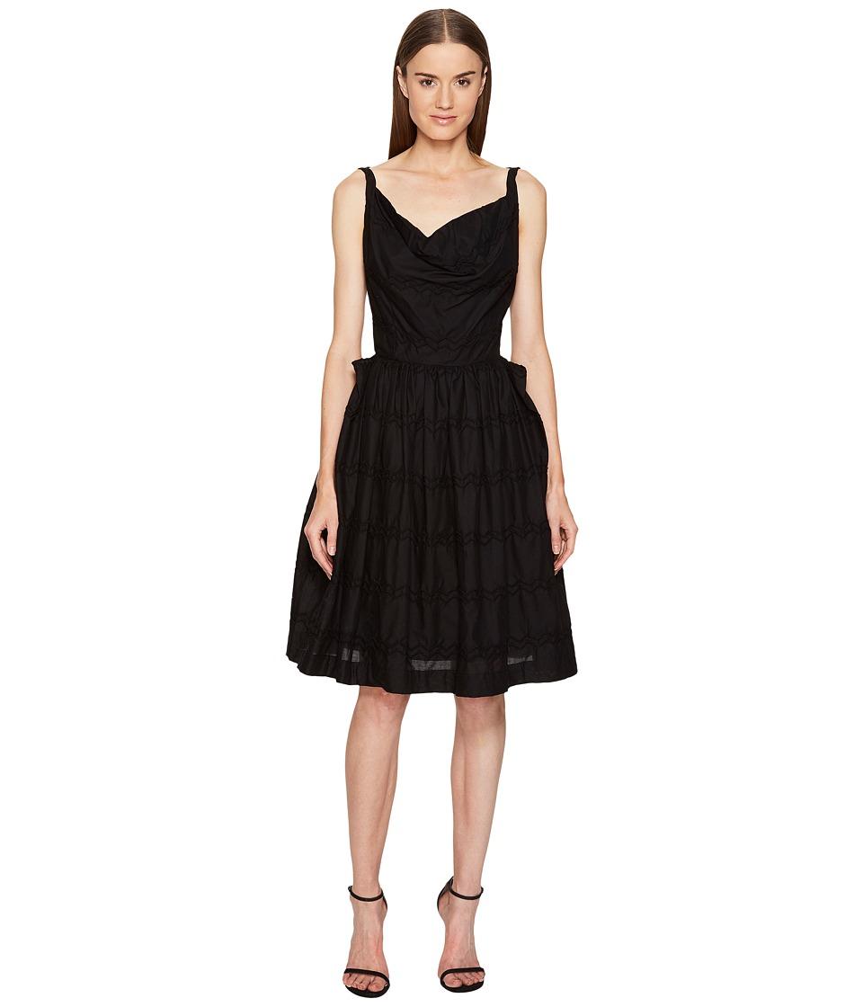 Vivienne Westwood Twisted Monroe Dress (Black) Women