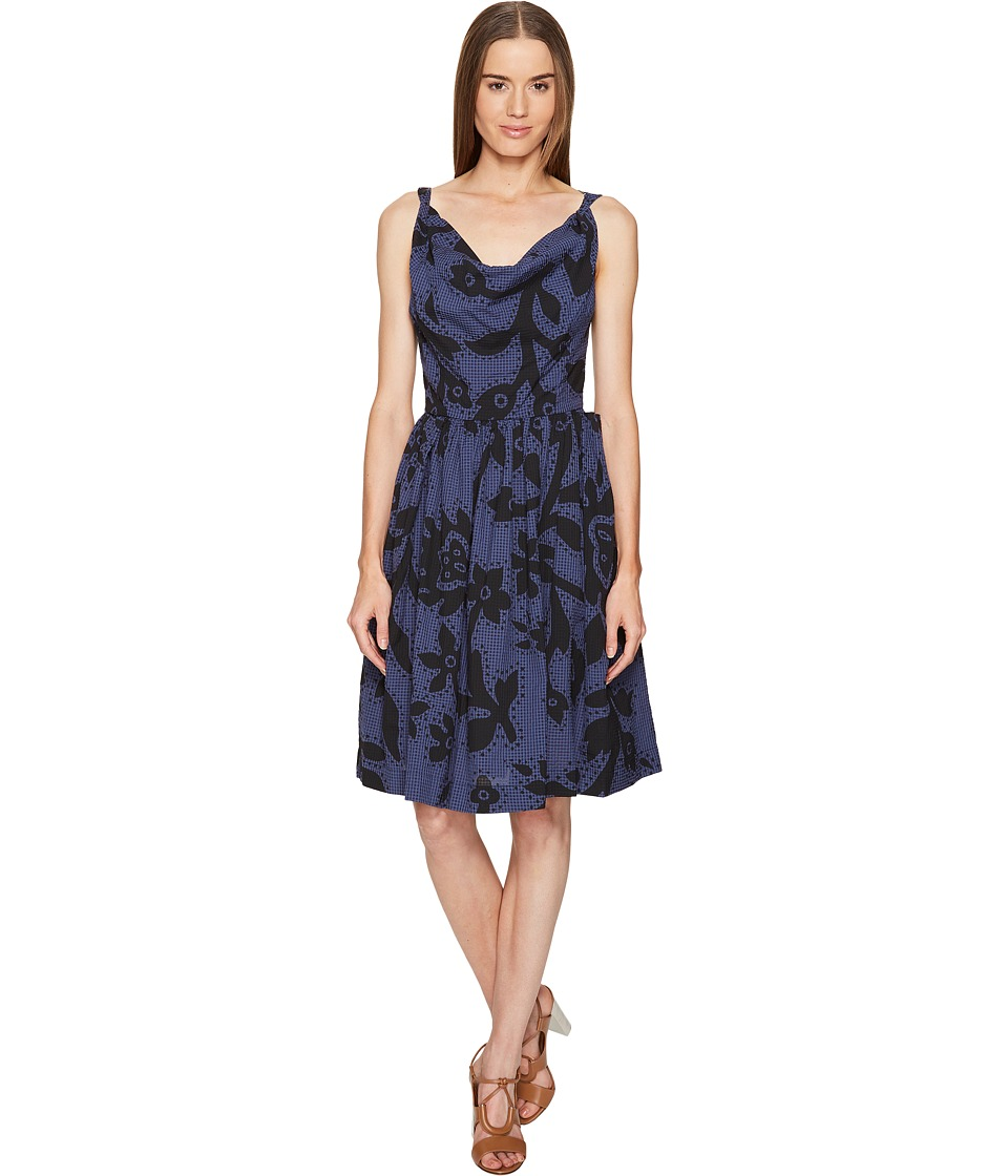 Vivienne Westwood Twisted Monroe Dress (Blue) Women