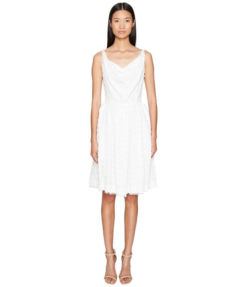 Vivienne Westwood Twisted Monroe Dress (Optical White) Women