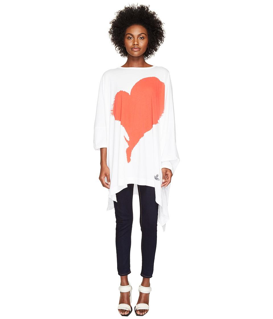 Vivienne Westwood Elephant Hole T-Shirt (Optical White) Women