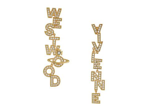Vivienne Westwood Soho Large Earrings - White Cubic Zirconia 1