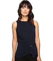 MICHAEL Michael Kors - D-Ring Hem Tie Top