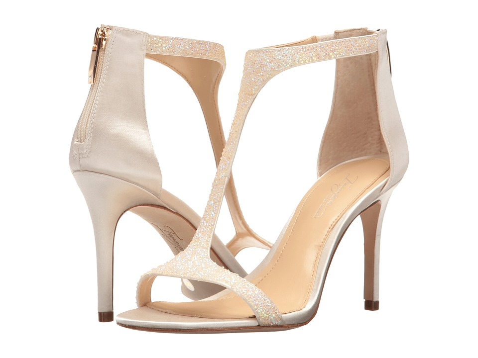 Imagine Vince Camuto Phoebe (Iridecent/Ivory Crystal/Delux Satin) Women