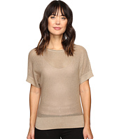 MICHAEL Michael Kors - Short Sleeve Dolman Metallic Sweater