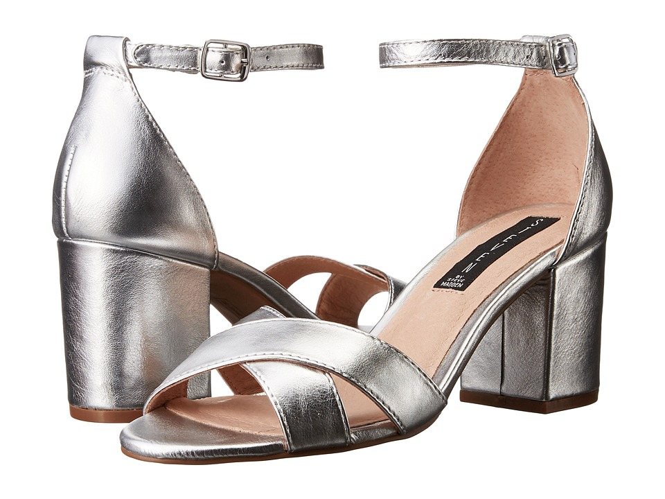 Steven Voomme (Silver) High Heels
