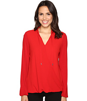 MICHAEL Michael Kors - Crossover Woven Front Top