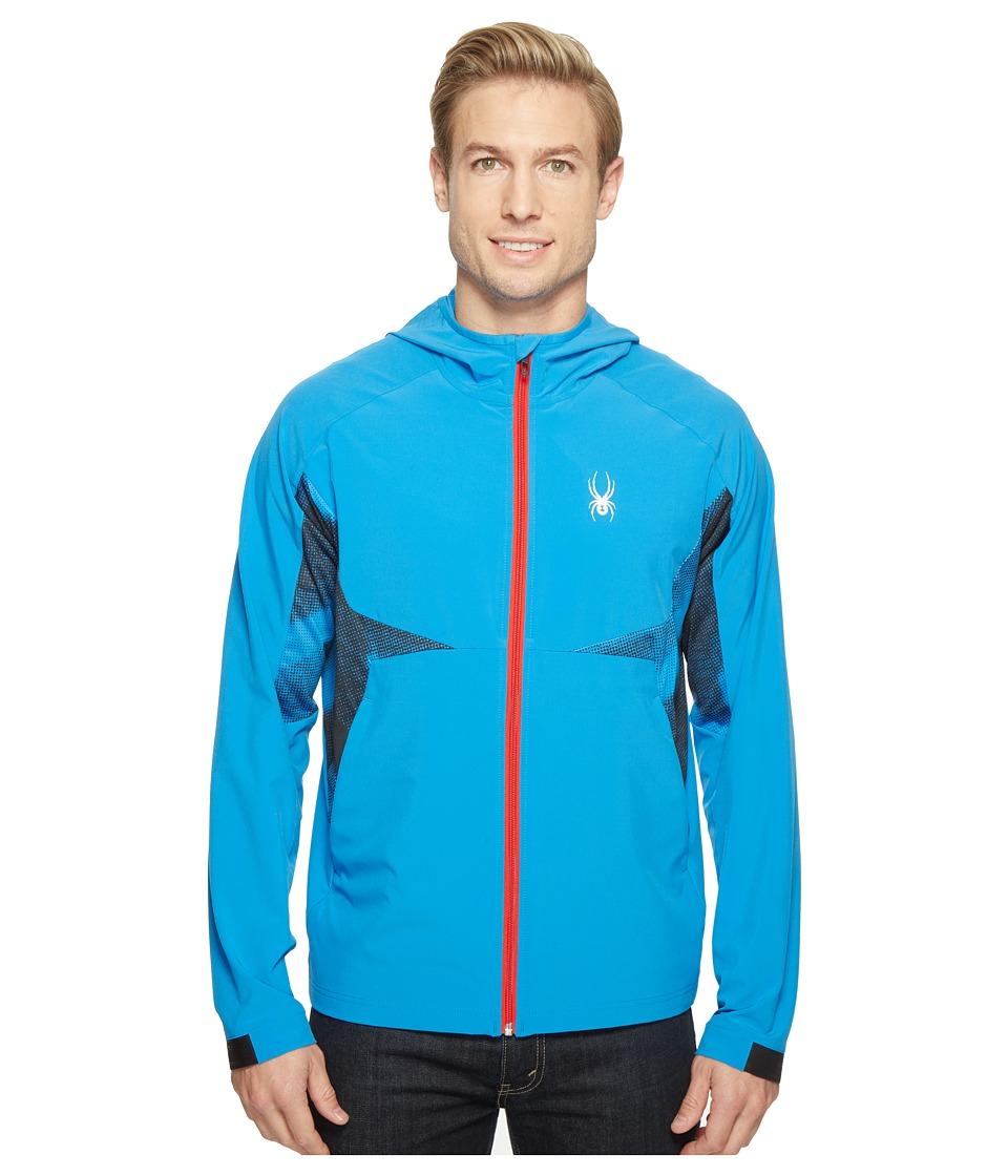 Spyder Orbit Shell Jacket (French Blue) Men's Coat