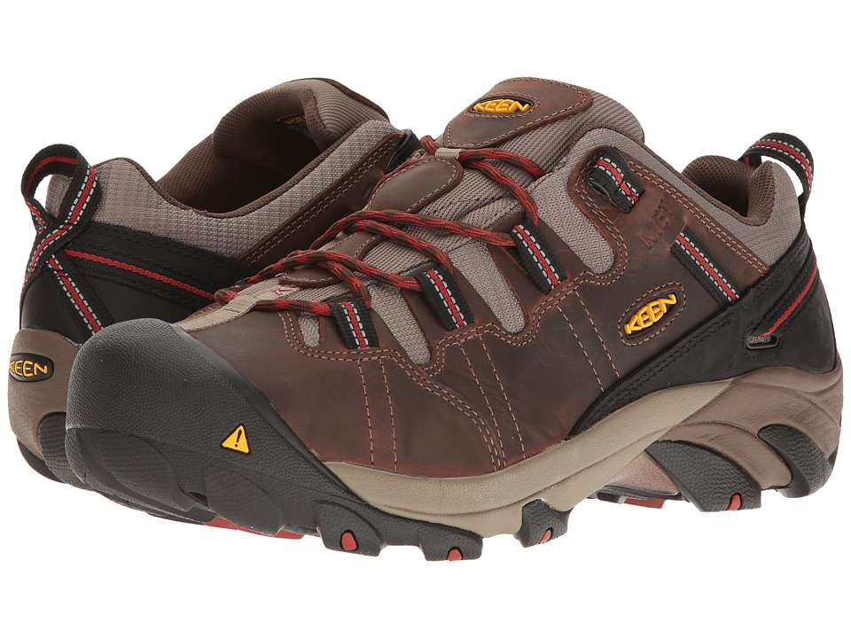 Keen Utility Detroit Low Internal Met (Brown/Bossa Nova) Men