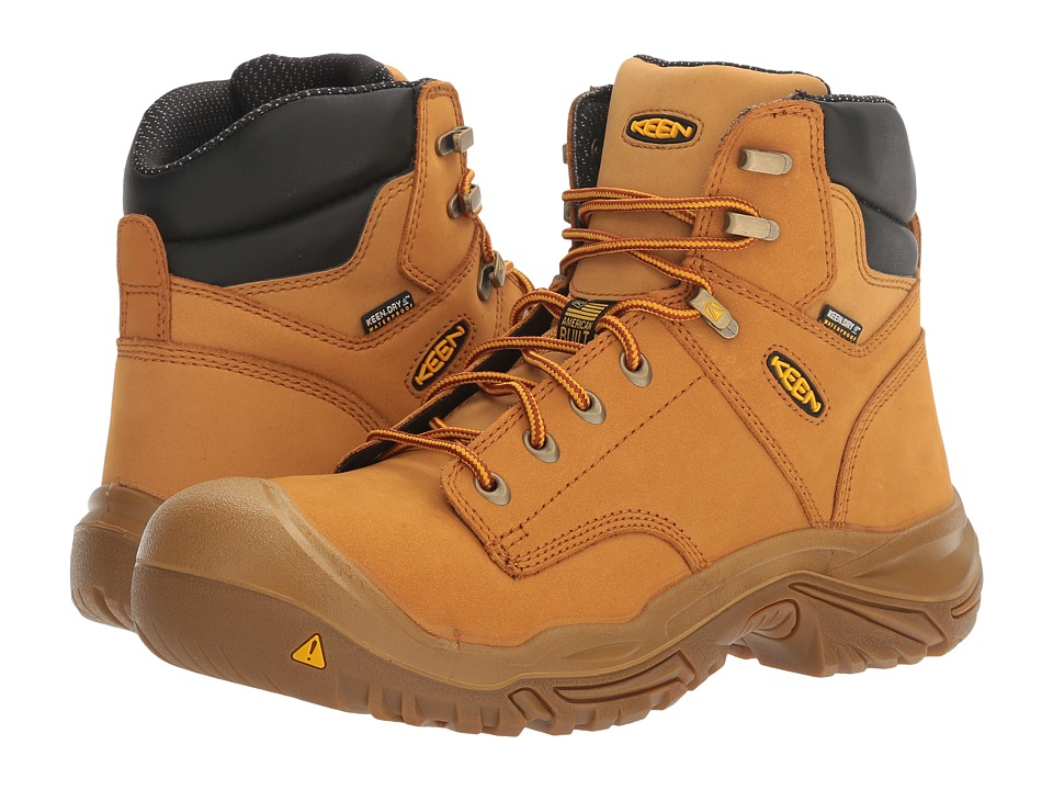 Keen Utility - MT Vernon Mid (Wheat) Men's Industrial Shoes