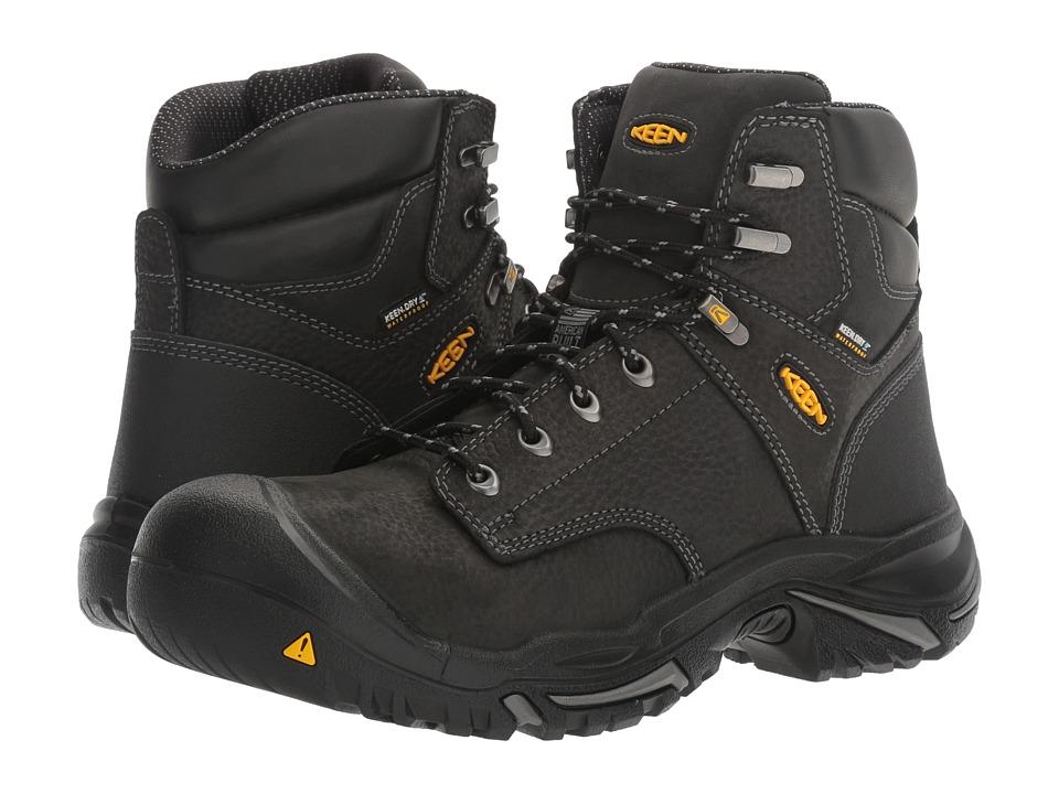 Keen Utility - MT Vernon Mid (Black) Men's Industrial Shoes