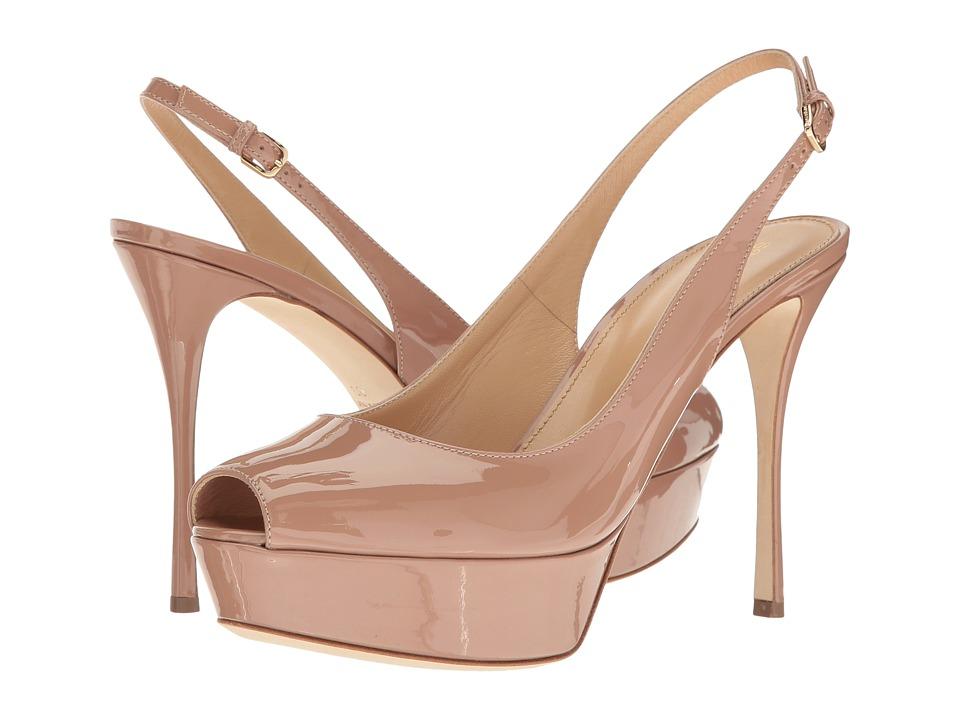 Sergio Rossi Alton (Bright Skin Patent) High Heels
