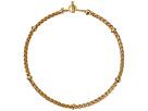 LAUREN Ralph Lauren Back to Basics II 18 Braided Gold Chain Necklace