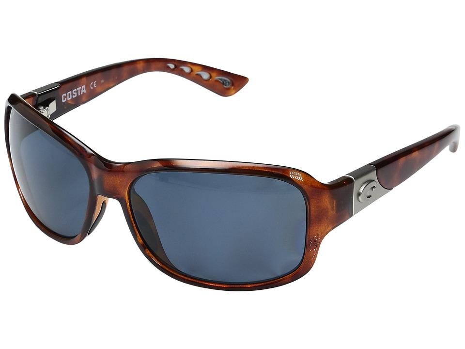 Costa - Inlet 580 Plastic (Gray 580P) Sport Sunglasses