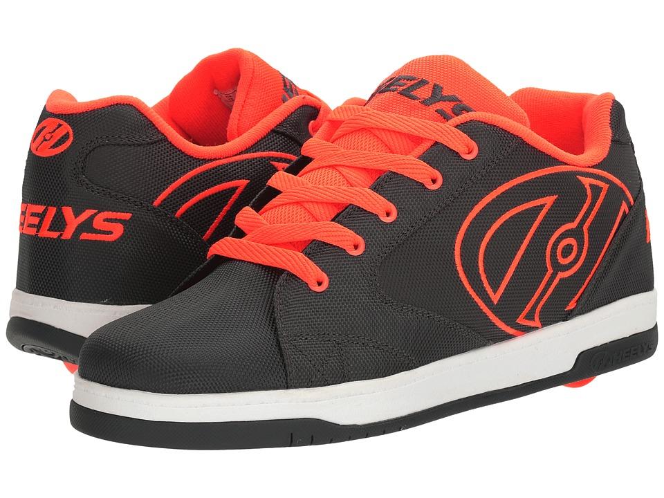 Heelys Propel 2.0 Ballistic (Charcoal/Orange/Ballistic) Boys Shoes
