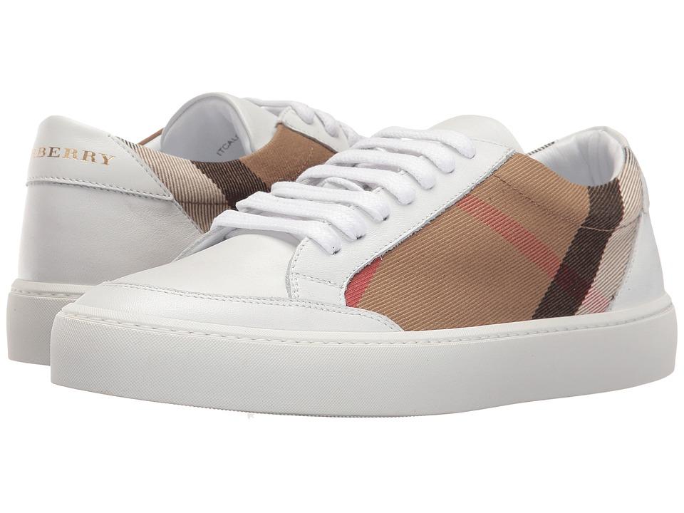 Burberry Salmond (HC/Optic White) Women's Shoes