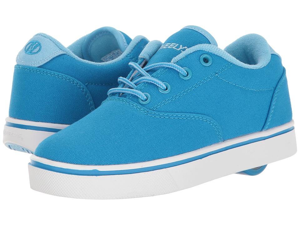 Heelys Launch (Little Kid/Big Kid/Adult) (Light Blue/Blue/White) Girls Shoes