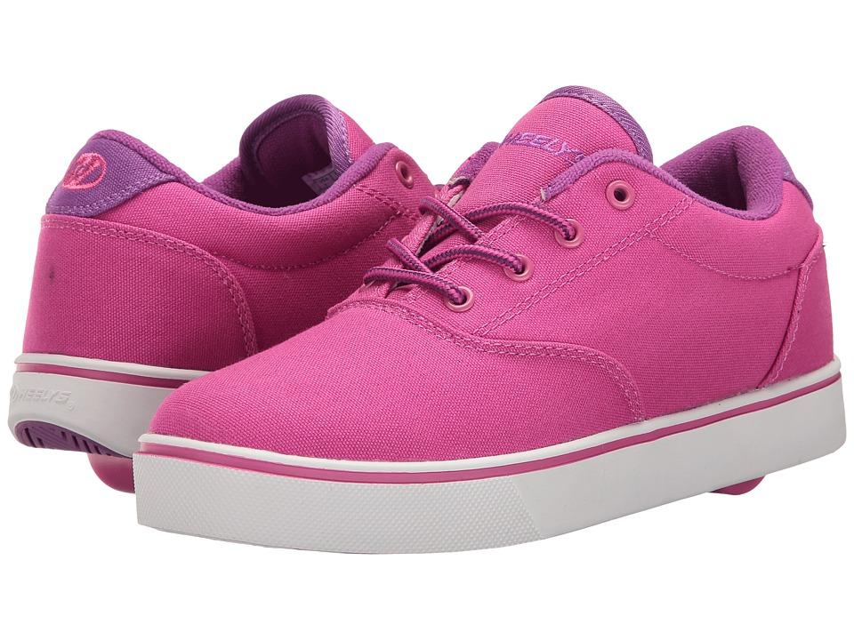 Heelys Launch (Little Kid/Big Kid/Adult) (Berry/Purple/White) Girls Shoes