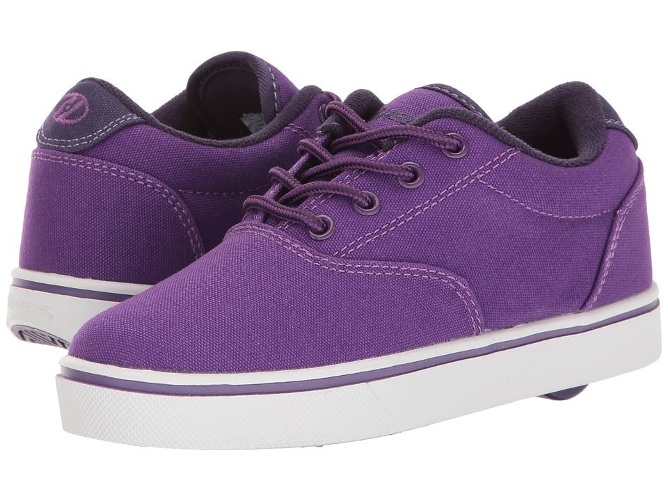 Heelys Launch (Little Kid/Big Kid/Adult) (Purple/Grape/White) Girls Shoes