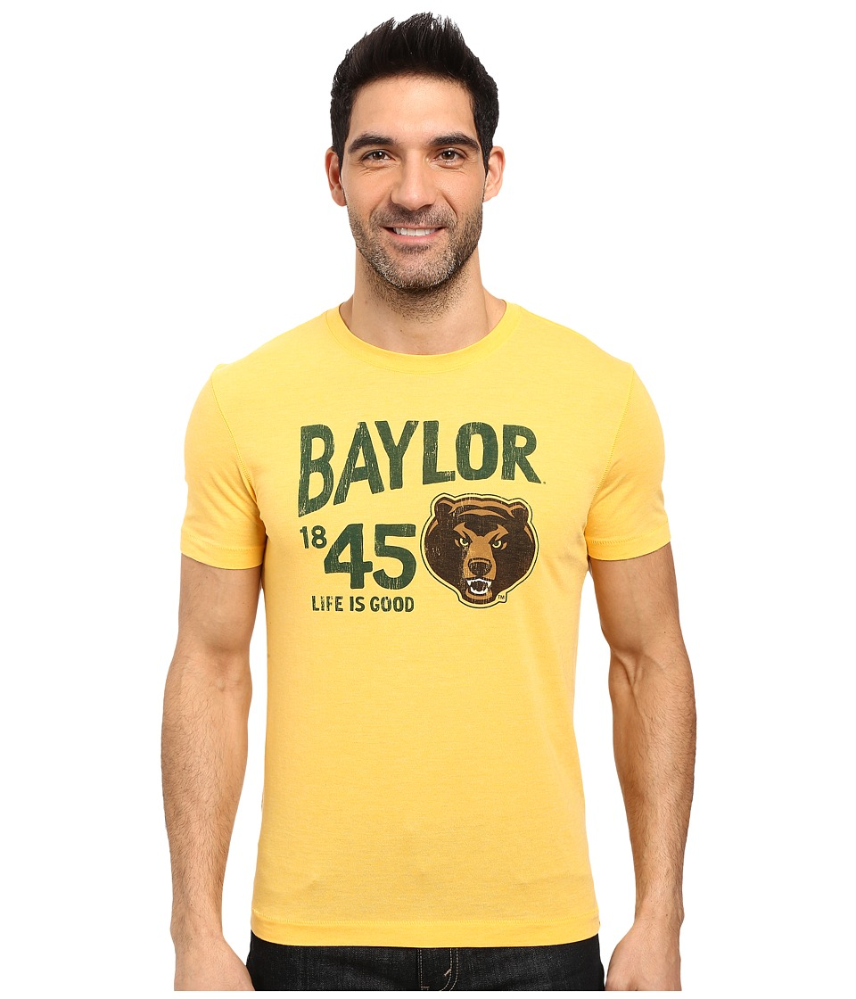 Life is good - Baylor Short Sleeve Tee (Gold Yellow) Men