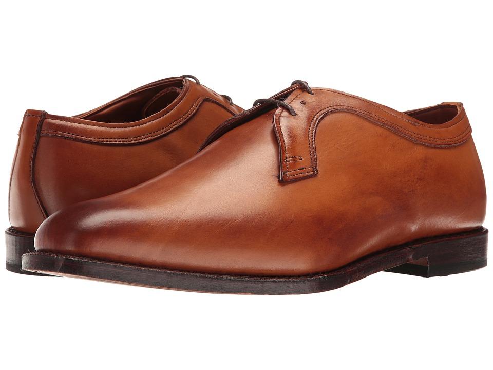Allen Edmonds - Grantham (Walnut Burnished Calf) Mens Lace Up Wing Tip Shoes