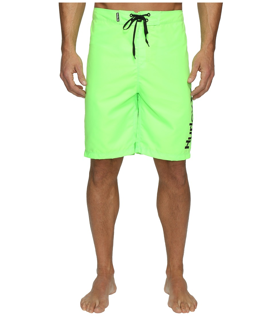 Hurley One Only 2.0 Boardshorts 21 (Neon Green) Men