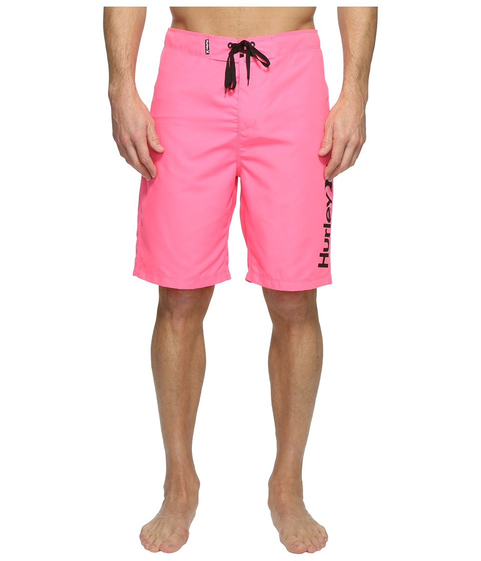Hurley One Only 2.0 Boardshorts 21 (Neon Pink) Men
