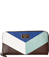 Fossil - Dawson Color Block Zip Clutch