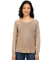 MICHAEL Michael Kors - Raglan Cut Out Long Sleeve Sweater