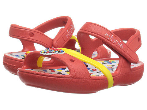 Crocs Kids Lina Minnie Sandal (Toddler/Little Kid)