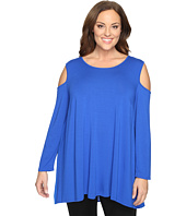 Vince Camuto Plus - Plus Size Long Sleeve Cold-Shoulder Top