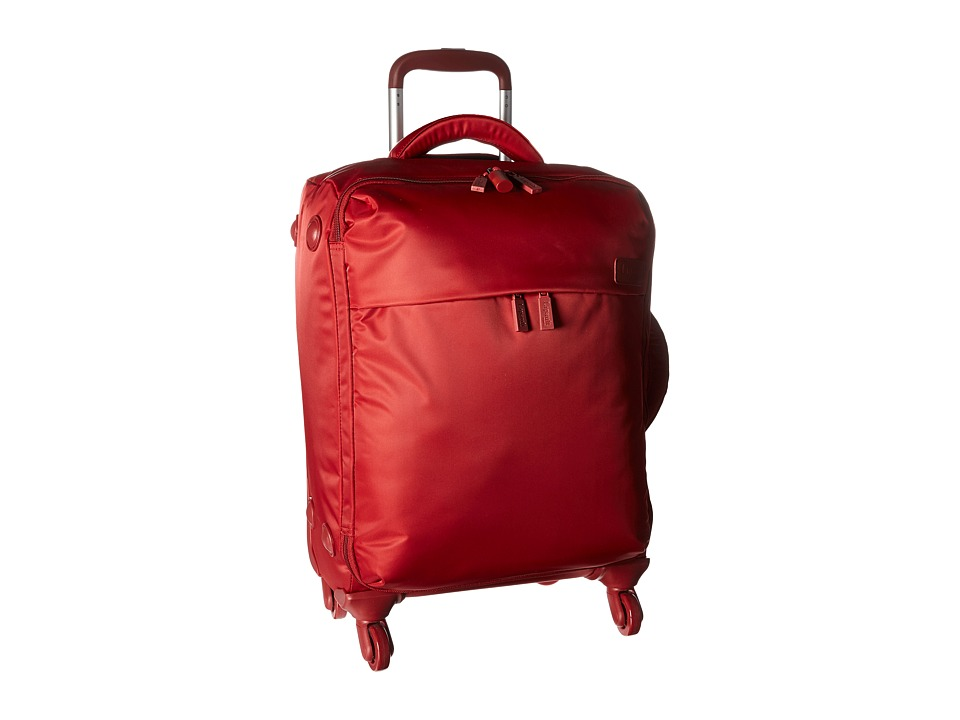 Lipault Paris Original Plume 22 Spinner Carry On (Ruby) Carry on Luggage