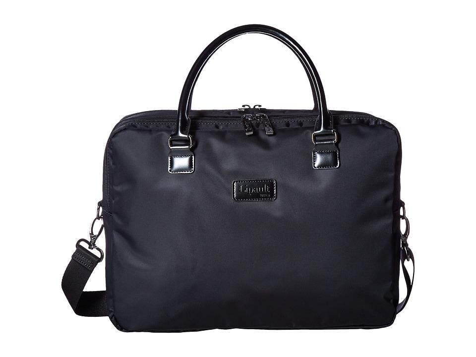 Lipault Paris - Lady Plume Laptop Bail (Black) Computer Bags