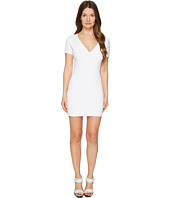 DSQUARED2 - Viscose Piquet Jersey Short Sleeve Dress