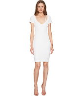 DSQUARED2 - Textured Viscose Jersey Short Sleeve Dress