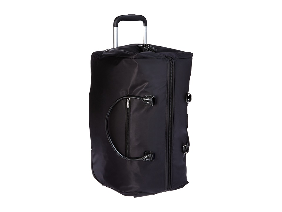 Lipault Paris - Lady Plume Wheeled Weekend Bag (Black) Weekender/Overnight Luggage