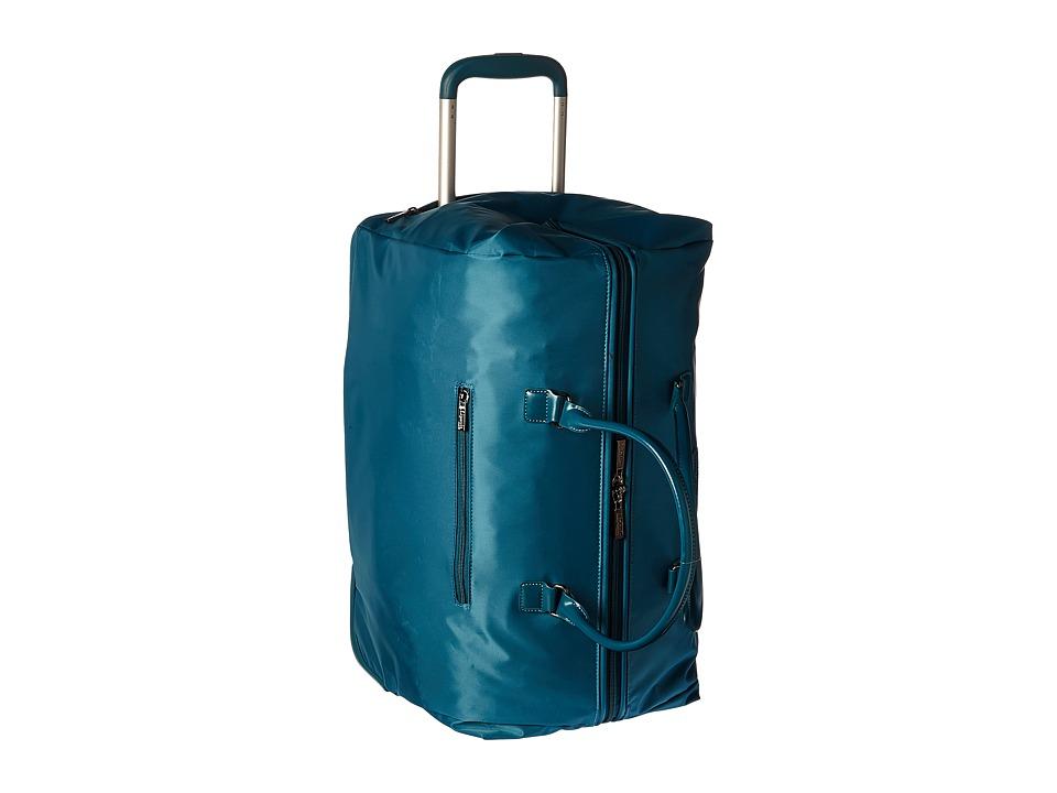 Lipault Paris - Lady Plume Wheeled Weekend Bag (Duck Blue) Weekender/Overnight Luggage