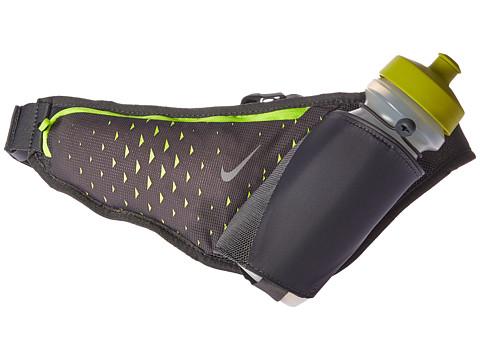 Nike Large Bottle Belt 22oz - Dark Grey/Volt/Silver