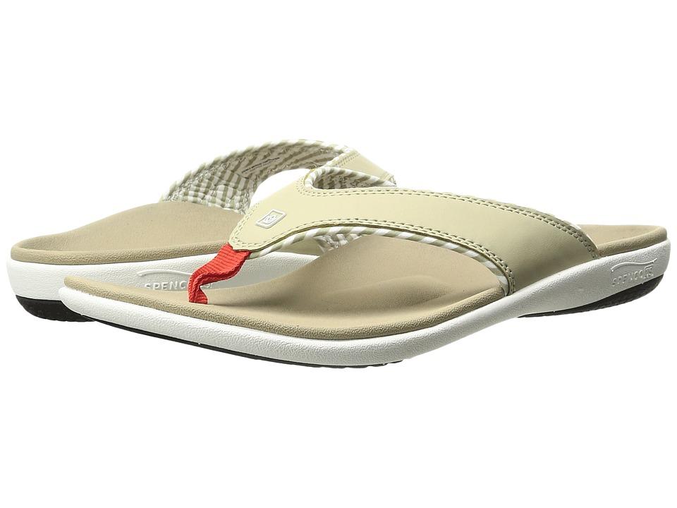 Spenco Candy Stripe (Tan) Sandals