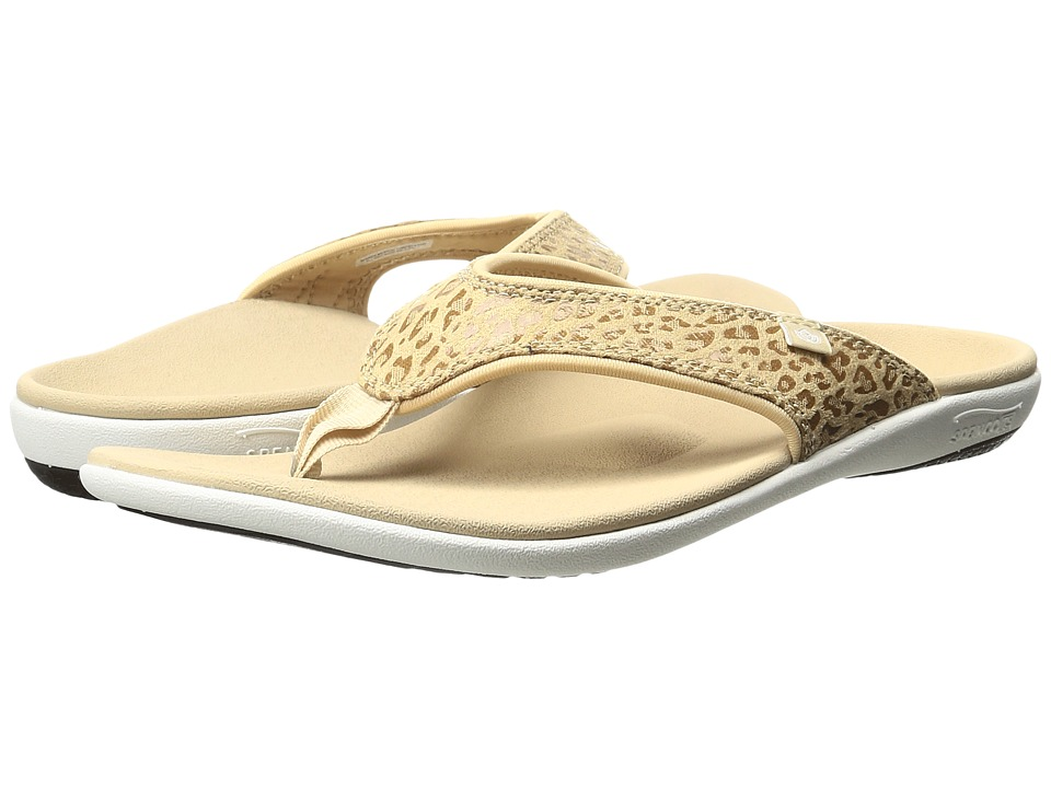 Spenco Cheetah Print (Tan) Women