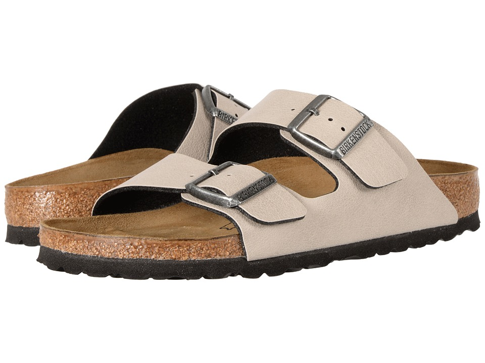 Birkenstock Arizona (Stone Birko-Flor Pull Up) Shoes