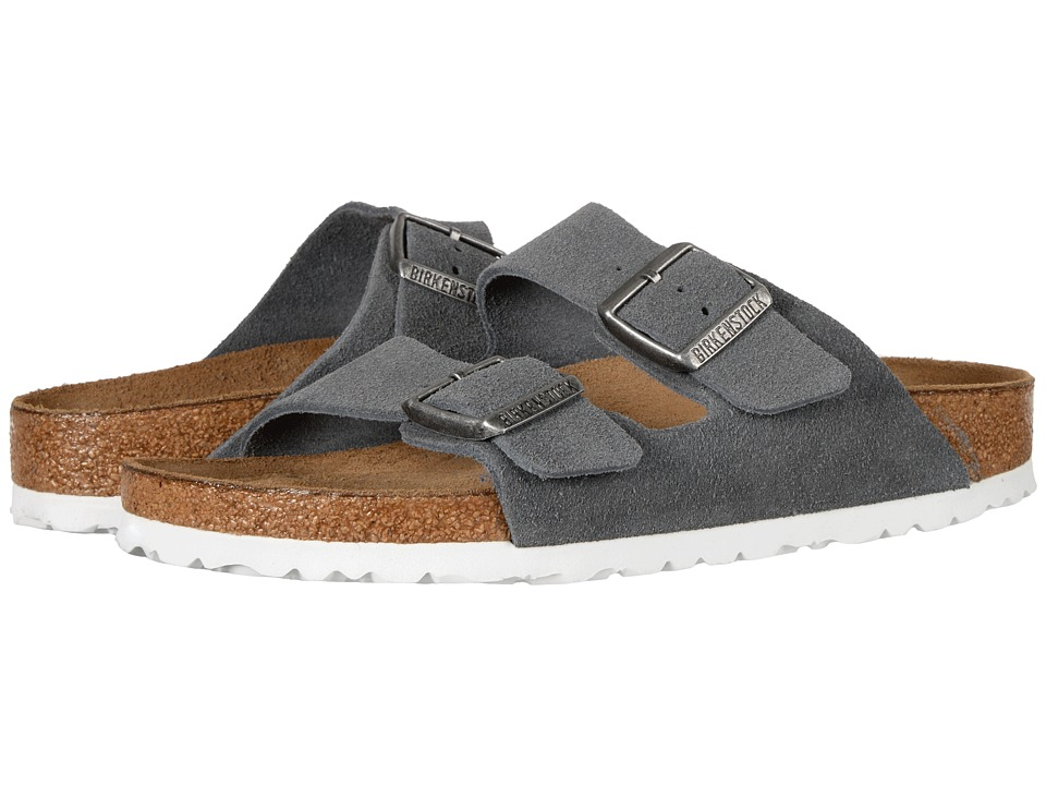 Birkenstock Arizona Soft Footbed (Stone Suede) Women