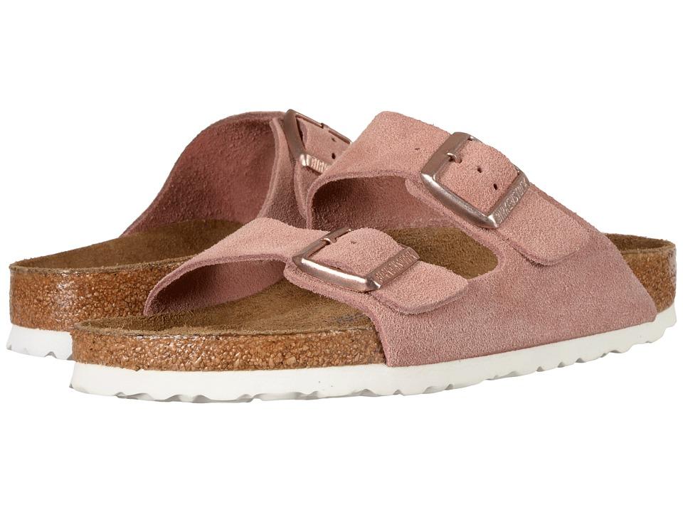 Birkenstock Arizona Soft Footbed (Rose Suede) Women
