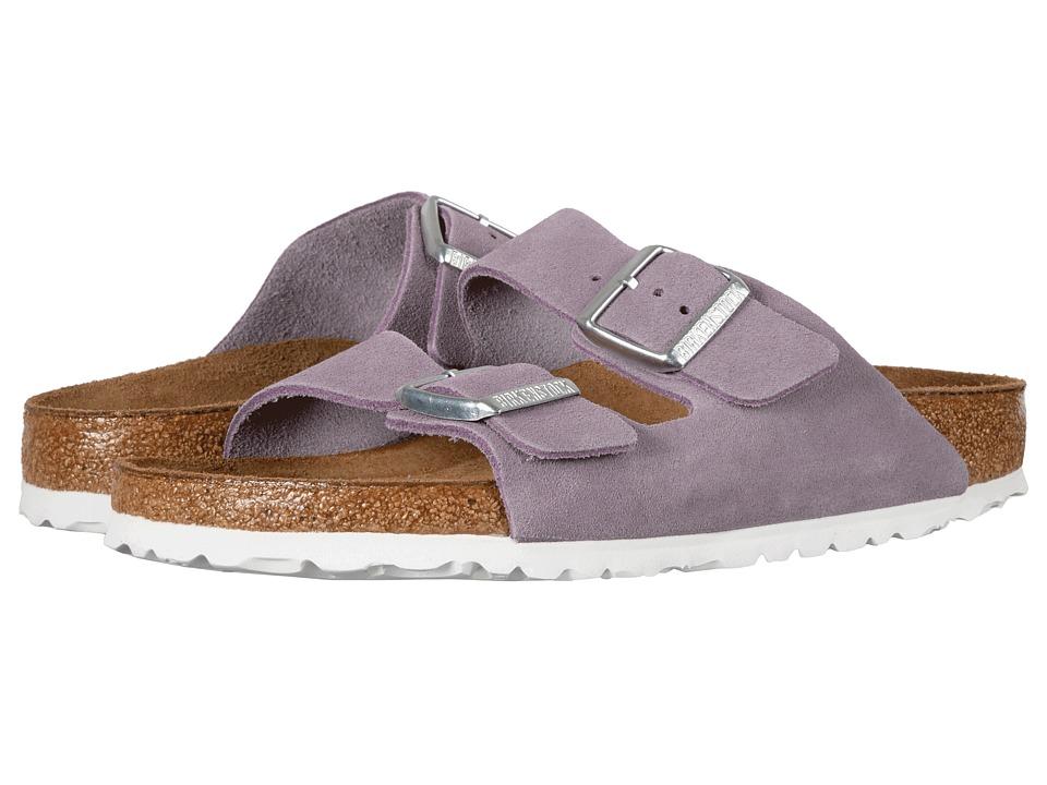 Birkenstock Arizona Soft Footbed (Lavender Suede) Women