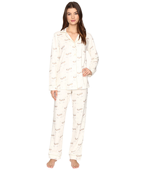 BedHead Long Sleeve Classic Pajama Set - Champagne Toast