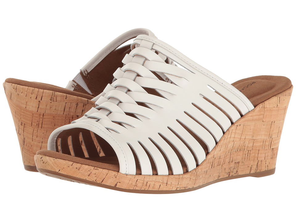 Rockport Briah Fisherman (White Leather) Women