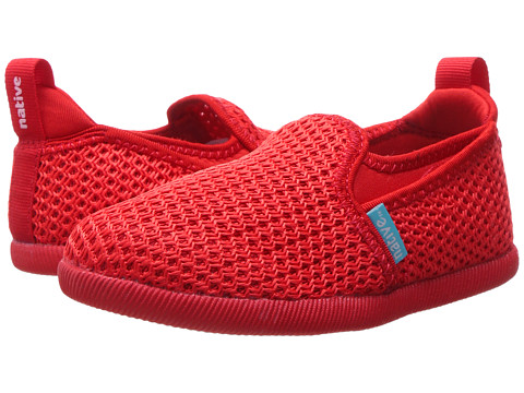 Native Kids Shoes Cruz (Toddler/Little Kid) - Torch Red/Torch Red
