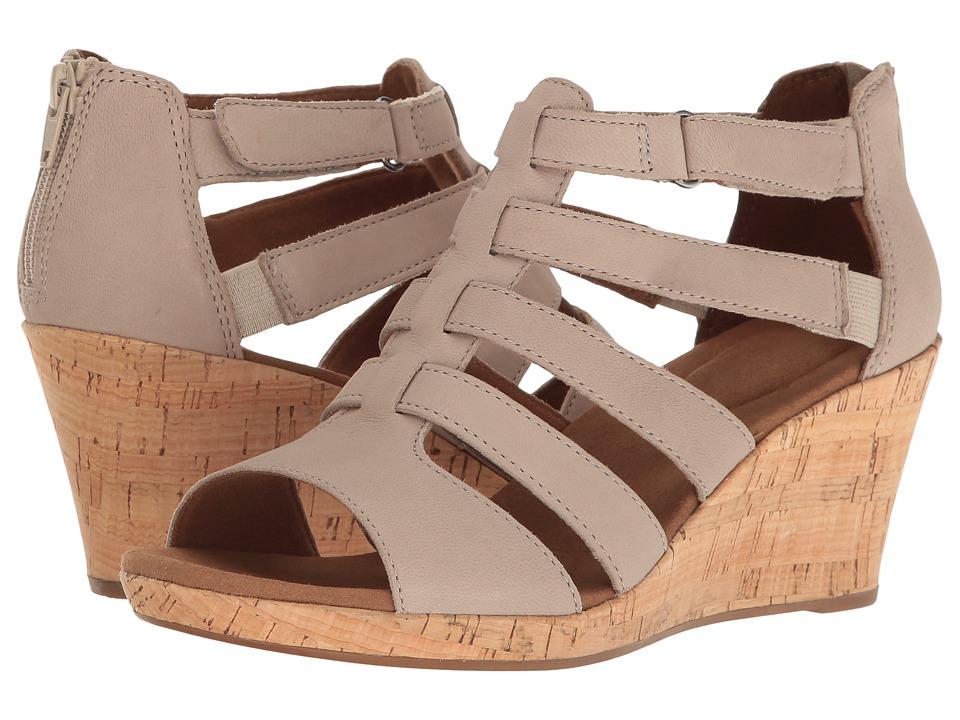 Rockport Briah Gladiator (New Taupe Nubuck) Women's Shoes