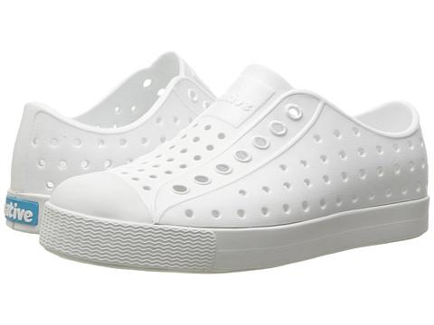 Native Kids Shoes Jefferson (Toddler/Little Kid) - Shell White/Shell White